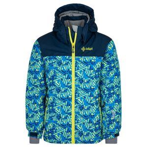Chlapecká lyžařská bunda kilpi ateni-jb tmavě modrá 122_128