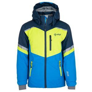 Chlapecká lyžařská bunda kilpi ferden-jb světle zelená 146