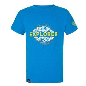 Chlapecké bavlněné tričko kilpi salo-jb modrá 152