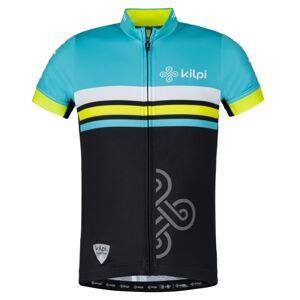 Chlapecký týmový cyklistický dres kilpi corridor-jb modrá 122_128