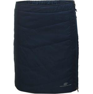 Dámská krátká prošívaná sukně 2117 klinga tmavě modrá xs