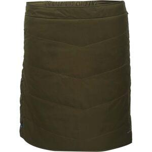 Dámská krátká prošívaná sukně 2117 klinga zelená xl
