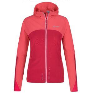 Dámská lehká softshellová bunda kilpi balans-w růžová 38