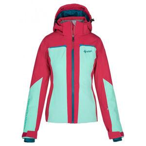 Dámská lyžařská bunda kilpi madeia-w tyrkysová 44