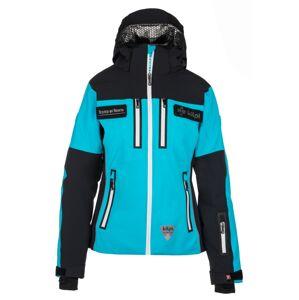 Dámská lyžařská bunda kilpi team jacket-w černá  42