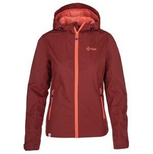 Dámská outdoorová bunda kilpi orleti-w tmavě červená 38