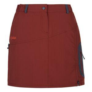 Dámská outdoorová sukně kilpi ana-w tmavě červená 46