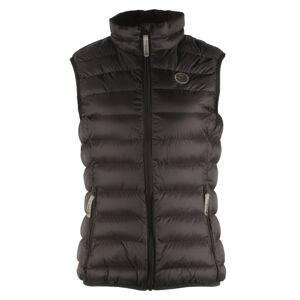 Dámská prošívaná vesta gts 5005 černá 36