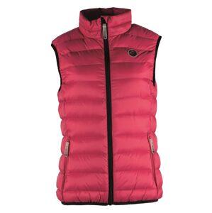 Dámská prošívaná vesta gts 5005 růžová 40