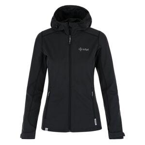 Dámská softshellová bunda kilpi campo-w černá 40