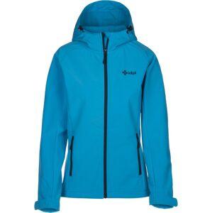 Dámská softshellová bunda kilpi elia světle modrá  40