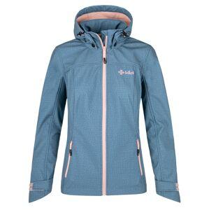Dámská softshellová bunda kilpi ravia-w modrá 50