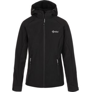 Dámská softshellová bunda mila-w černá 44
