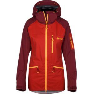 Dámská třívrstvá bunda kilpi nalau-w červená 36