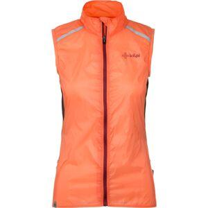 Dámská ultralehká vesta kilpi flow-w oranžová 34