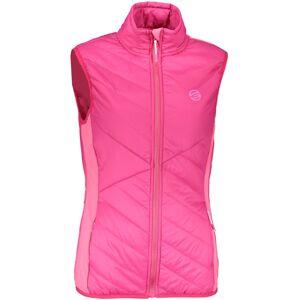 Dámská zateplená vesta gts 4037 růžová 42