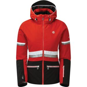Dámská zimní bunda dare2b evidence černá/červená 40