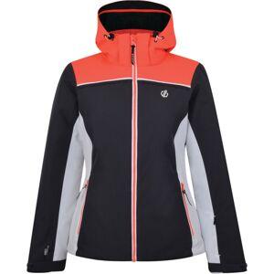 Dámská zimní bunda dare2b validate šedá/oranžová 36