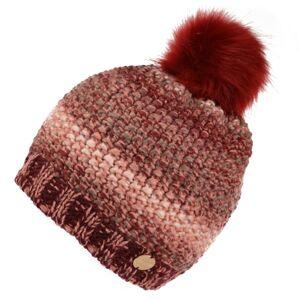 Dámská zimní čepice regatta frosty v červená