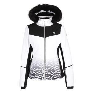 Dámská zimní lyžařská bunda dare2b iceglaze bílá 36