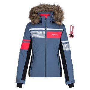 Dámská zimní lyžařská bunda kilpi aniela-w modrá 42