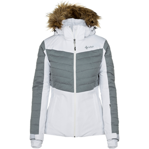 Dámská zimní lyžařská bunda kilpi breda-w bílá  44