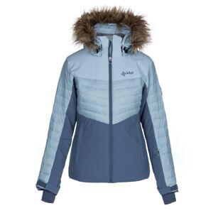 Dámská zimní lyžařská bunda kilpi breda-w světle modrá 54