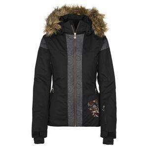 Dámská zimní lyžařská bunda kilpi delia-w černá 36