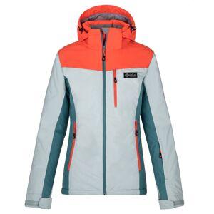 Dámská zimní lyžařská bunda kilpi flip-w světle modrá 46
