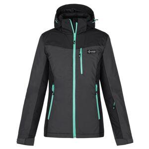 Dámská zimní lyžařská bunda kilpi flip-w tmavě šedá 40