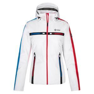 Dámská zimní lyžařská bunda kilpi hattori-w bílá 44