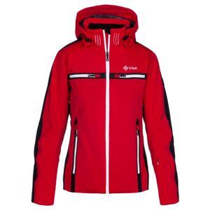Dámská zimní lyžařská bunda kilpi hattori-w červená 34