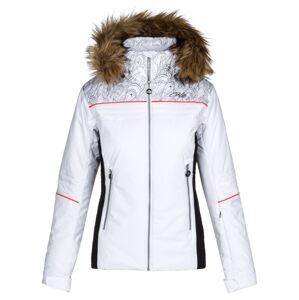Dámská zimní lyžařská bunda kilpi henesie-w bílá 52