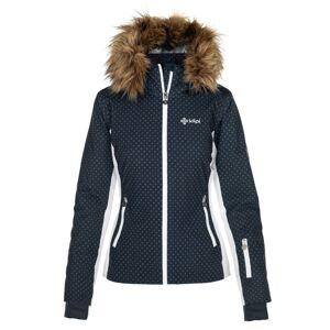 Dámská zimní lyžařská bunda kilpi malenay-w tmavě modrá 44