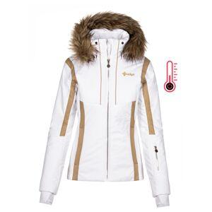 Dámská zimní lyžařská bunda kilpi mirsel-w bílá 46