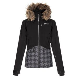 Dámská zimní lyžařská bunda kilpi tessa-w černá 42