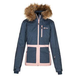 Dámská zimní lyžařská bunda kilpi tessa-w tmavě modrá 42