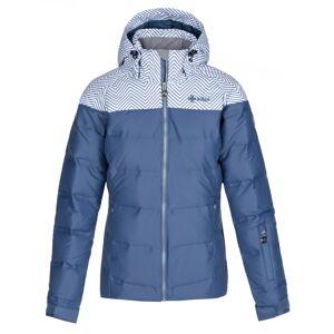 Dámská zimní péřová bunda kilpi buffy-w modrá 44
