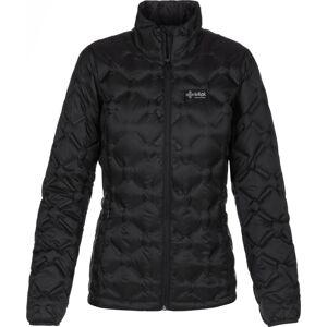 Dámská zimní péřová bunda kilpi papilon-w černá 46