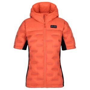 Dámská zimní péřová bunda kilpi vernon-w korálová 38