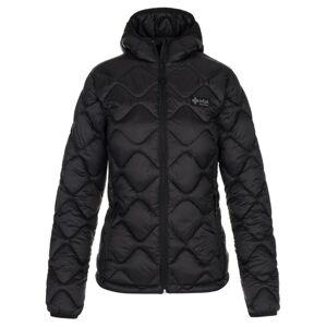 Dámská zimní prošívaná bunda kilpi rebeki-w černá 36