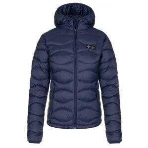 Dámská zimní prošívaná bunda kilpi rebeki-w tmavě modrá 44