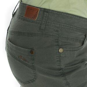 Dámské 3/4 kalhoty bushman ines zelená 38