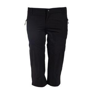 Dámské 3/4 kalhoty gts 6056 černá 42