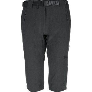 Dámské 3/4 kalhoty kilpi dalarna-w tmavě šedá  34