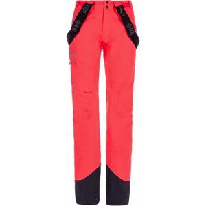 Dámské 3 vrstvé technické kalhoty kilpi lazzaro-w růžová 38