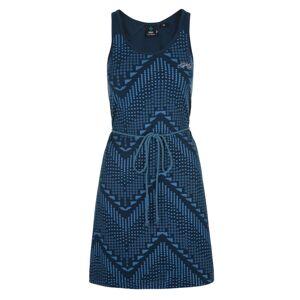 Dámské bavlněné šaty kilpi melia-w tmavě modrá 36