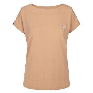 Dámské bavlněné tričko kilpi nellim-w světle růžová 44