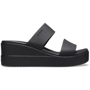 Dámské boty crocs brooklyn wedge černá 36-37