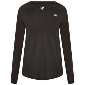 Dámské funkční tričko dare2b discern černá 38
